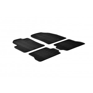 Rubber mats for Ford Fusion