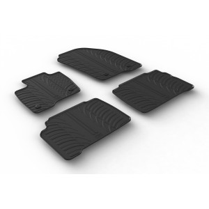 Rubber mats for Ford S-max/Galaxy
