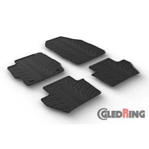 Rubber mats for Ford KA+ (manual, 5 door)