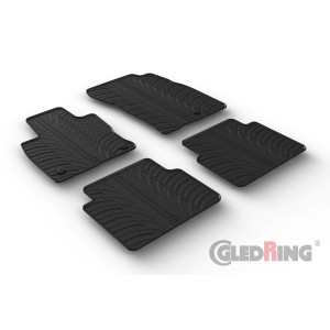 Rubber mats for Ford Kuga (automatic & manual)