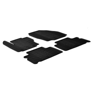 Rubber mats for Ford S-Max (5 doors)
