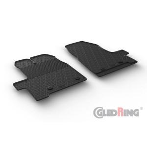 Rubber mats for Ford Transit Custom Cargo FL