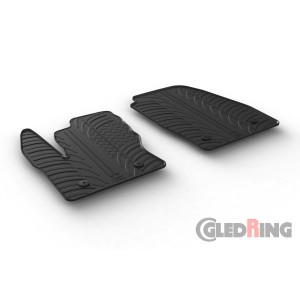 Rubber mats for Ford Transit Connect Furgon