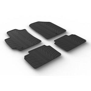 Rubber mats for Hyundai Elantra