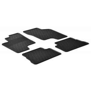 Rubber mats for Hyundai Getz