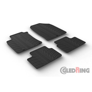 Rubber mats for Hyundai i30/SW/Fastback