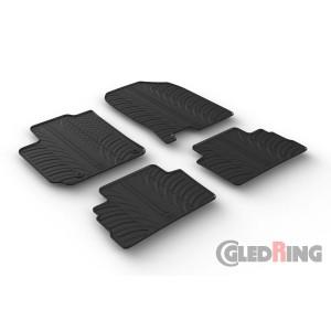 Rubber mats for Hyundai KONA