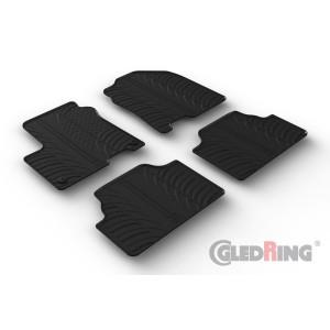 Rubber mats for Hyundai KONA-electric