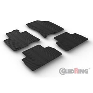 Rubber mats for Hyundai Santa Fe