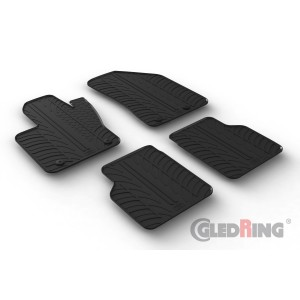 Rubber mats for JEEP COMPASS