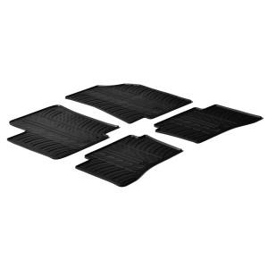 Rubber mats for Kia Rio (5 doors and)