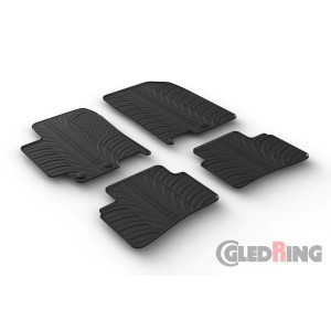Rubber mats for Kia Rio/Stonic (5 doors)