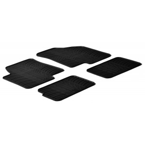Rubber mats for Kia Soul
