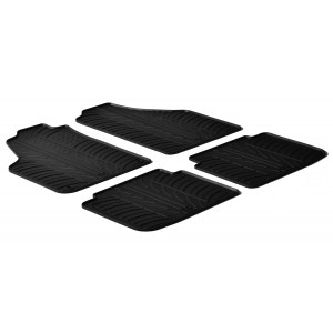 Rubber mats for Lancia Musa