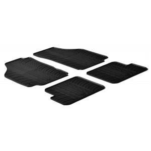 Rubber mats for Lancia Ypsilon