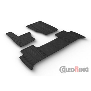 Rubber mats for Land Rover Discovery