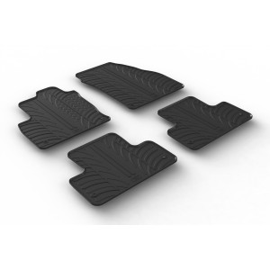 Rubber mats for Land Rover RR Evoque