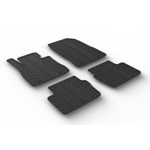 Rubber mats for Mazda 2