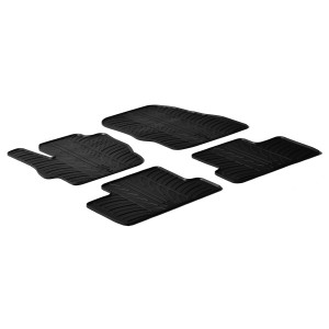 Rubber mats for Mazda 3