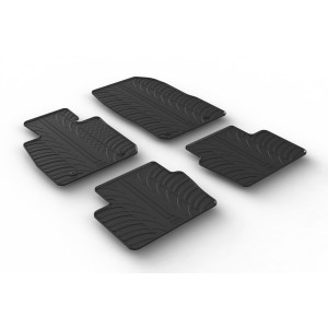 Rubber mats for Mazda CX-3