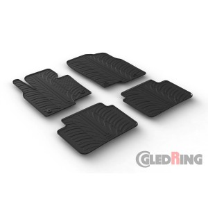 Rubber mats for Mazda CX-5