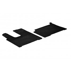 Rubber mats for Mercedes Actros