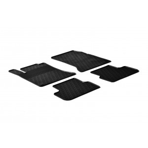 Rubber mats for Mercedes Serija A W176