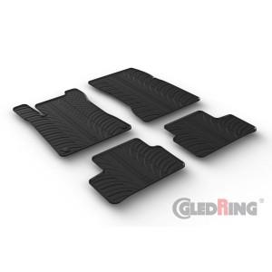 Rubber mats for Mercedes Serija B W247