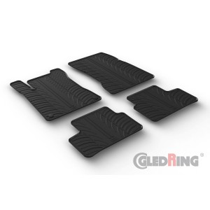 Rubber mats for Mercedes GLA (H247 - automatic only)