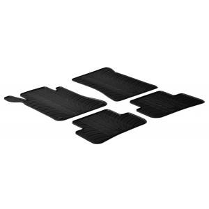 Rubber mats for Mercedes Serija C W203