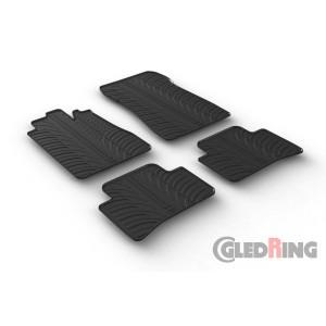 Rubber mats for Mercedes Serija C