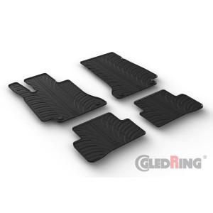Rubber mats for Mercedes Serija C W205