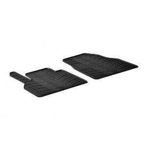 Rubber mats for Mercedes Citan furgon