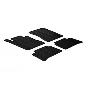 Rubber mats for Mercedes Serija E W211