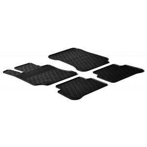 Rubber mats for Mercedes Serija E W212
