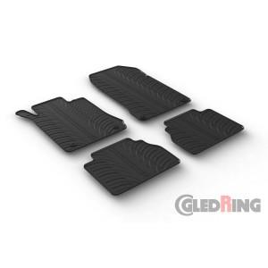 Rubber mats for Mercedes Serija E W210
