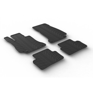 Rubber mats for Mercedes Serija E W213