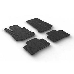 Rubber mats for Mercedes GLC X253/C253