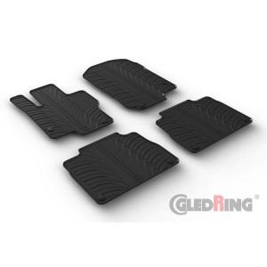 Rubber mats for Mercedes Serija MB GLE (w167-automatic)