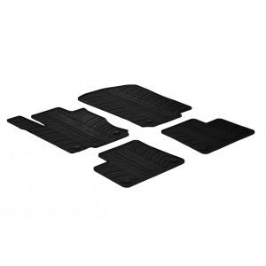 Rubber mats for Mercedes Serija MB GLE (w166)