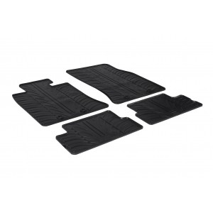 Rubber mats for Mini Cooper/One