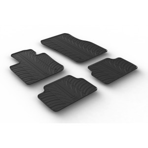Rubber mats for Mini One F55 (5 doors)