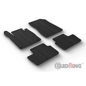 Rubber mats for Nissan Juke II (manual & automatic)