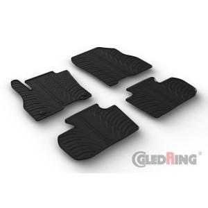 Rubber mats for Nissan Leaf HB