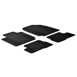 Rubber mats for Nissan Micra