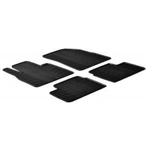 Rubber mats for Nissan Micra ( 5 doors)