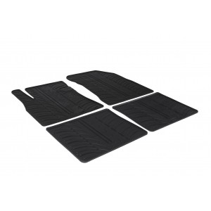Rubber mats for Nissan Note