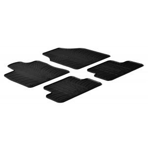 Rubber mats for Nissan Qashqai