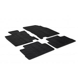 Rubber mats for Nissan Qashqai, Qashqai 4x4