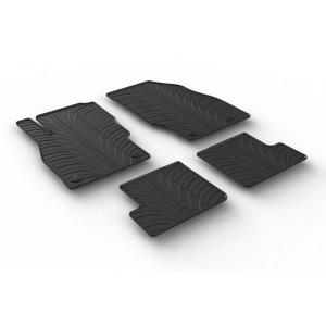 Rubber mats for Opel Adam (3 doors)